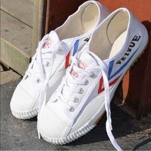 New Feiyue White Sneakers